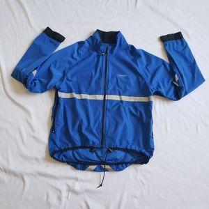 Running room packable reflective jacket unisex sm